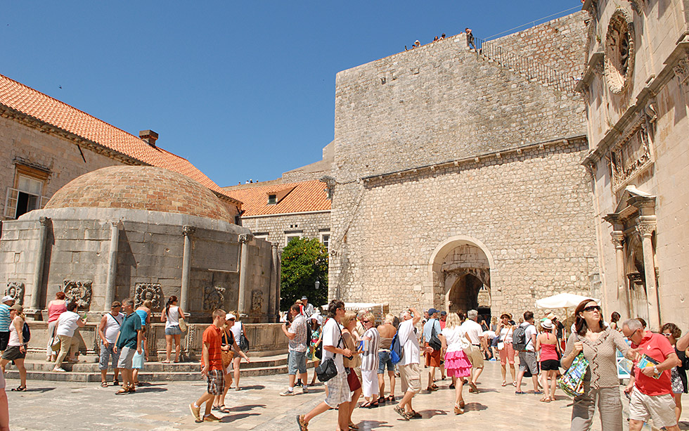 Car And Home Insurance >> Big Onofrio's fountain in Dubrovnik