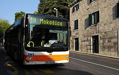 Dubrovnik City Bus Map