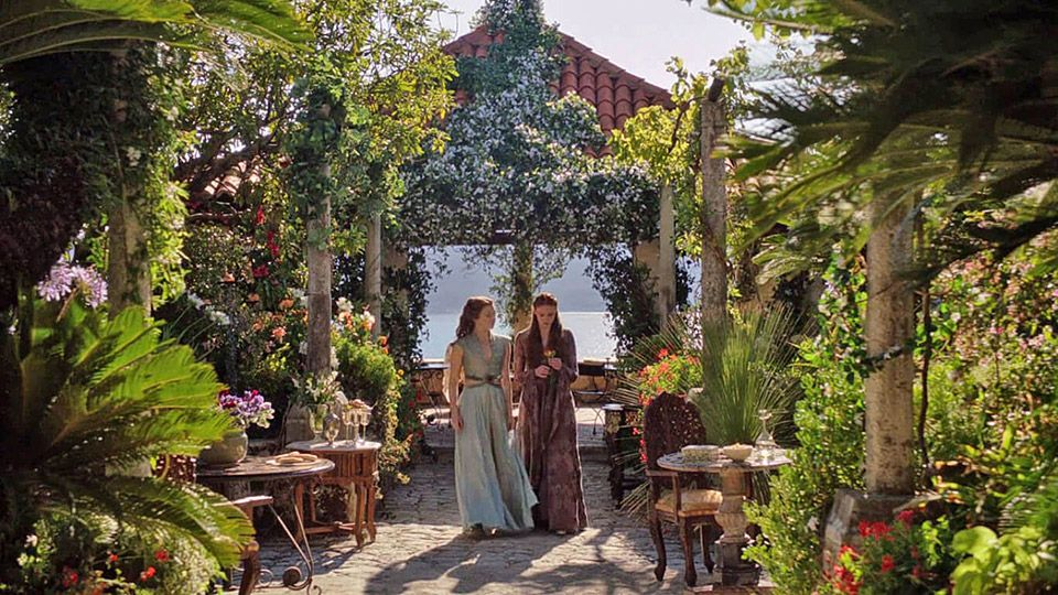 Game of Thrones Dubrovnik Trsteno Arboretum (Picture: HBO)