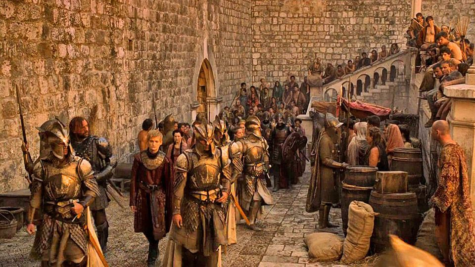 Game of Thrones Dubrovnik Pile Gate (Picture: HBO)