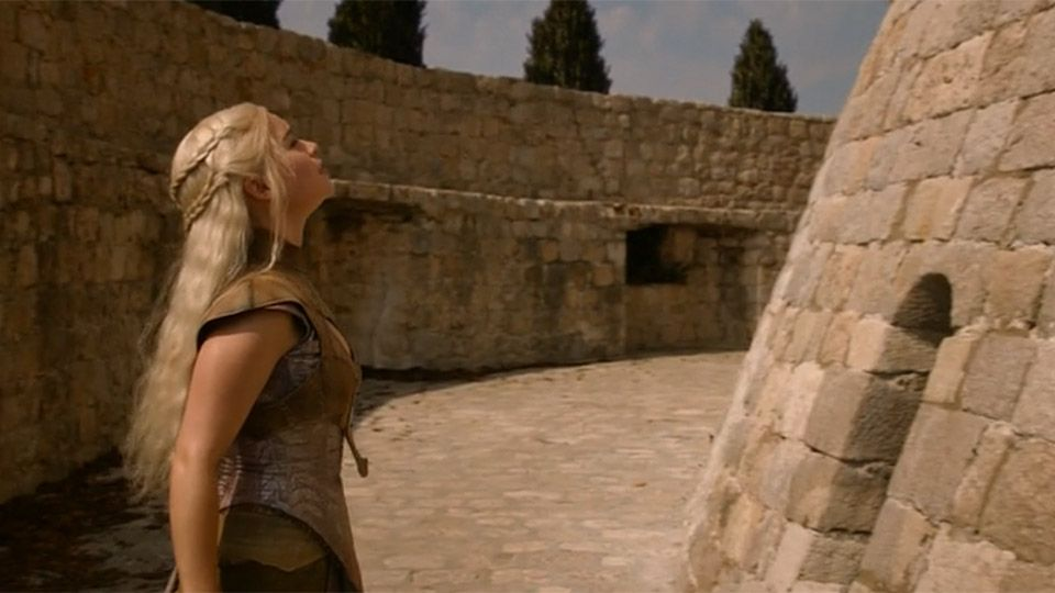 Game of Thrones Dubrovnik Minčeta Tower (Picture: HBO)