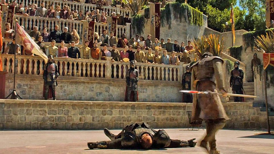 Game of Thrones Dubrovnik Lokrum Island (Picture: HBO)