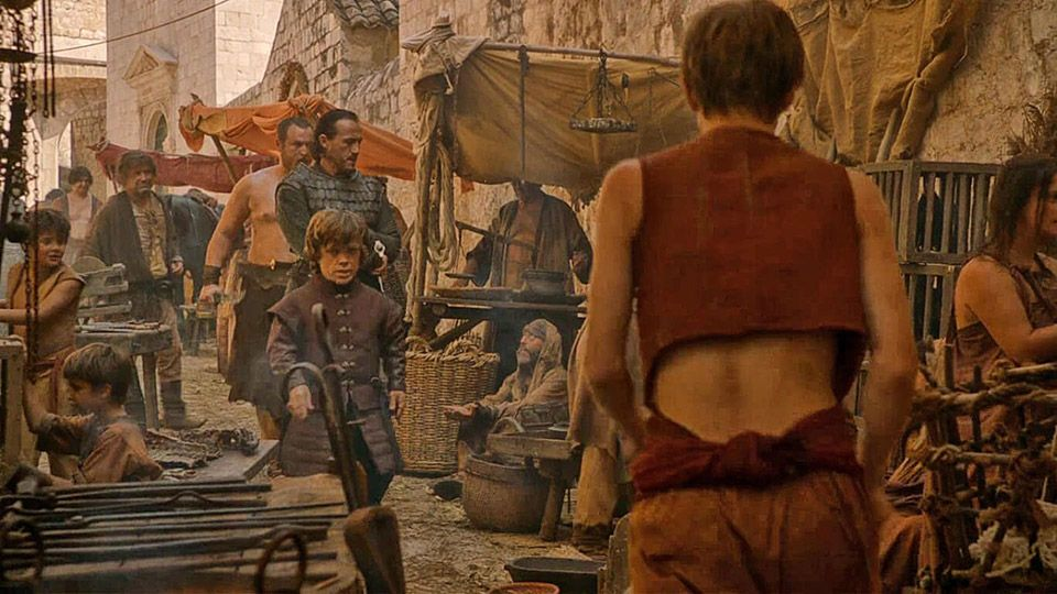 Game of Thrones Dubrovnik Ploče Gate (Picture: HBO)