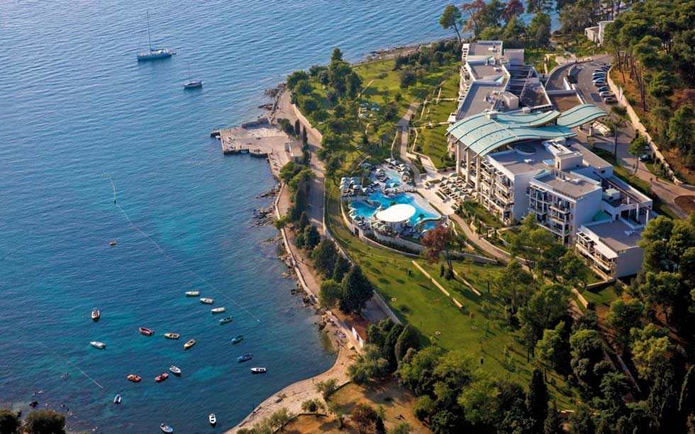 Top 15 hotels in Croatia