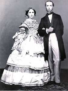 Young Archduke Maximilian and Archduchess Charlotte