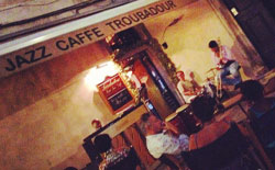 Jazz Cafe Troubadour live jazz music