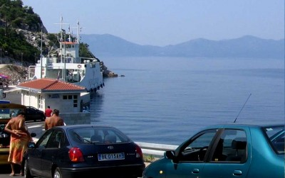 Peljesac to Mljet car ferry, Prapratno to Sobra (2018 timetable)