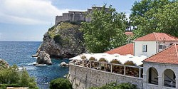 Restaurant Dubravka location and view